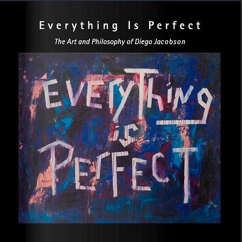 200 page Coffee table book Everything is Perfect