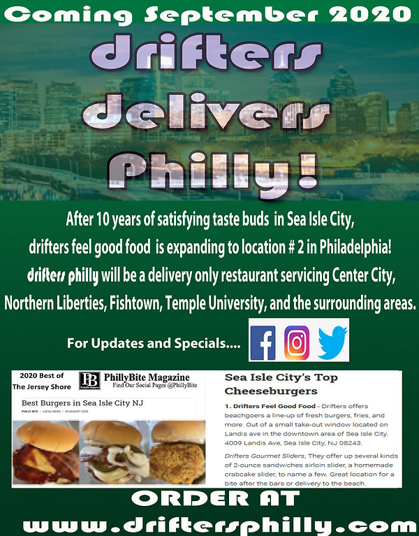 drifters delivers philly.jpg