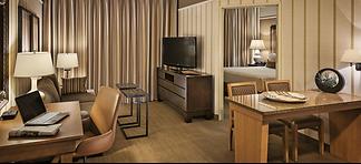 Hotel room office sonesta suites