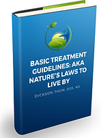 Blue book cover name of book Basic Treatment Guidelines