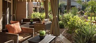 Covered Patio Sonesta suites