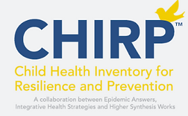 Chirp logo Child Health Inventory for Resilience and Prevention