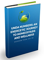 Image of blue book cover name of book UNDA Numbers