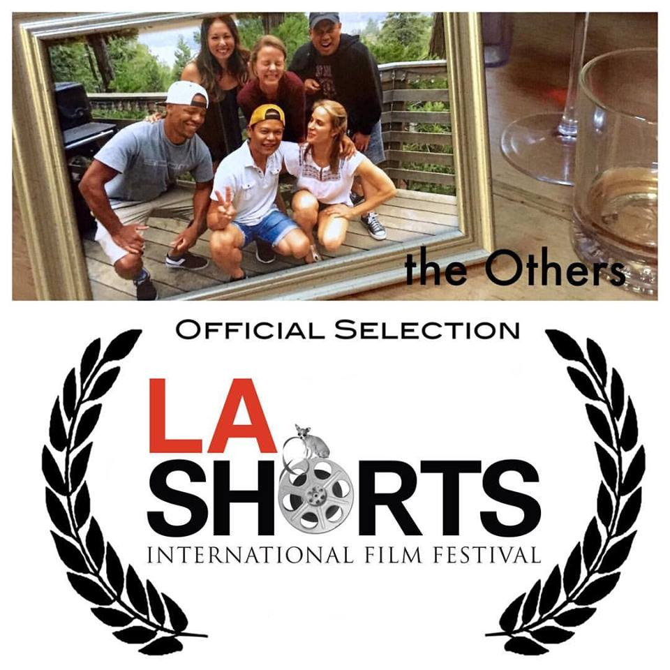 The Others got selected at the LA Shorts Festival. I'm gonna try and make it there. My LA peeps it's showing on August 4th in the afternoon.