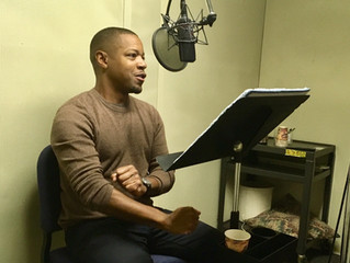Recording for an educational book