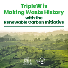 TripleW is pleased to announce that it has joined the RCI in its efforts to eliminate dependence upon fossil-based carbon