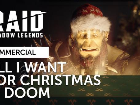 Raid Christmas Commercial (narrator)