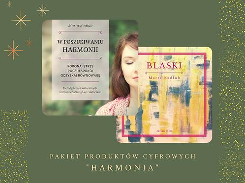 """Pakiet """"Harmonia"""": e-book """"W poszukiwaniu harmonii"""" oraz zestaw mp3 """"BLASKI"""""""