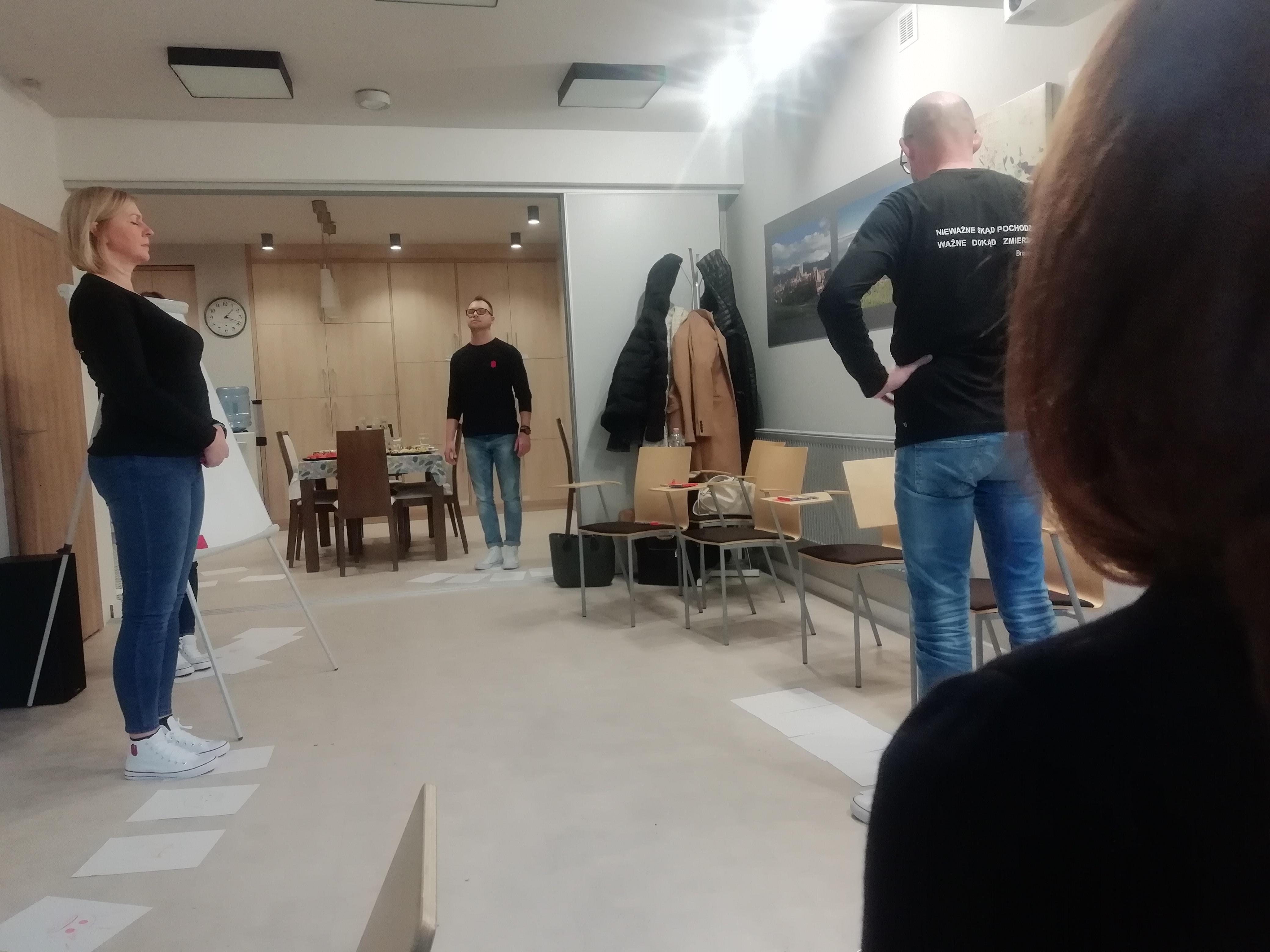 Wstęp do technik aktorskich w biznesie