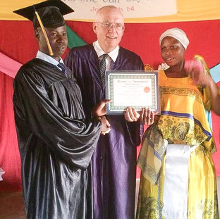 Graduation in Village of Katogua
