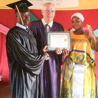 Graduation in Village of Katogua