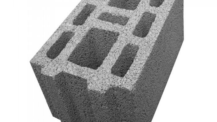 ÇBL 25 B Üç Sıra Boşluklu Geçmeli Bims Blok [25x39x18,5]