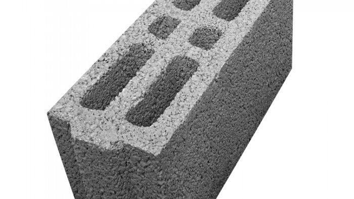 ÇBL 15 B İki Sıra Boşluklu Geçmeli Bims Blok [15x39x18,5]
