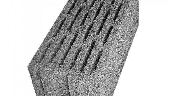 ÇBL 17 SW Beş Sıra Boşluklu Geçmeli Bims Blok [17x39x18,5]