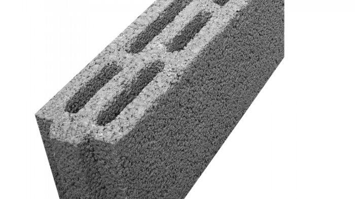 ÇBL 10 B İki Sıra Boşluklu Geçmeli Bims Blok [10x39x18,5]