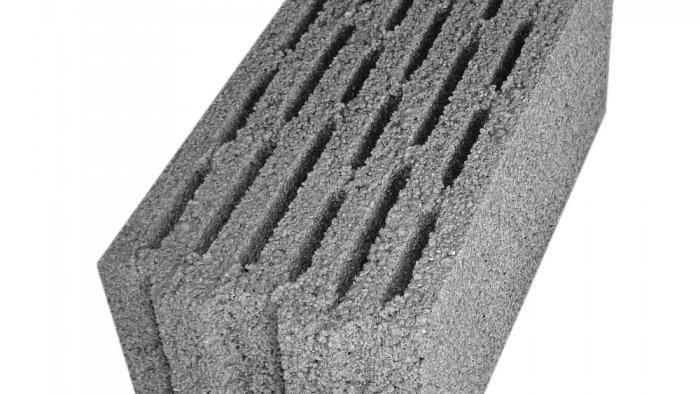 ÇBL 19 SW Beş Sıra Boşluklu Geçmeli Bims Blok [19x39x18,5]