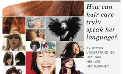 How can hair care truly speak her language?