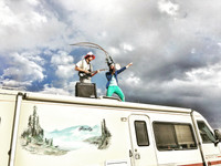 RV living at Burning Man