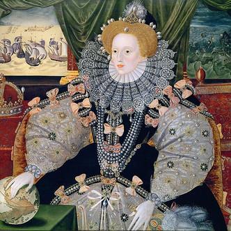 Le portrait d'Élisabeth 1ere , dit de l'Armada