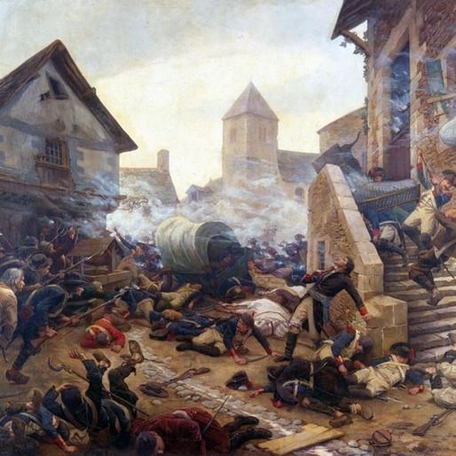La mort du général Moulin, 8 février 1794.
