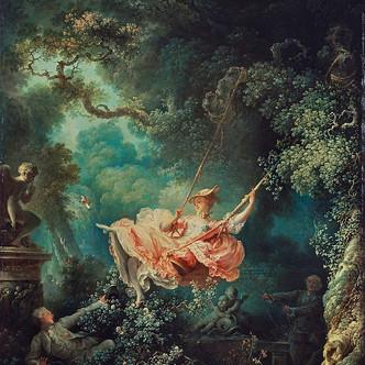 Les Hasards heureux de l'escarpolette, de Fragonard