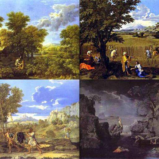Les quatre saisons de Nicolas Poussin