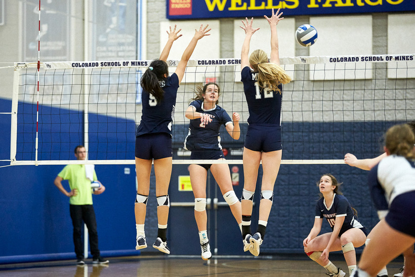 MSU Denver Volleyball versus Colorado School of Mines