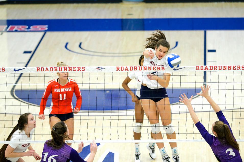 MSU Denver Volleyball versus Westminster College