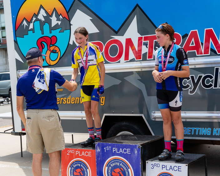 Bannock Street Criterium 2018 Junior Women's 11-12 and 13-14 Combined Event