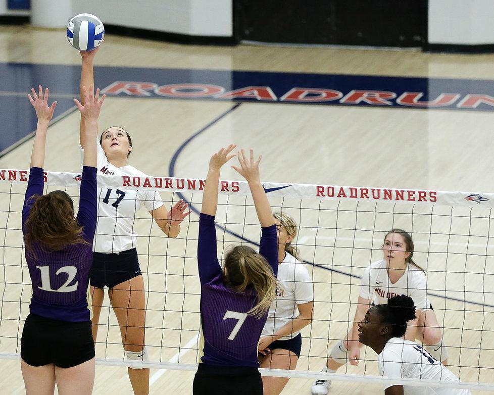 Photos of MSU Denver Volleyball Versus Westminster College, Auraria Event Center, Denver, Colo., Saturday, October 19, 2019.