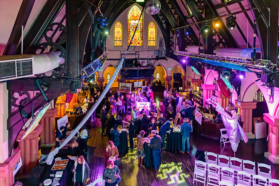 """Cirque du Church 2nd Annual Golden Triangle Creative District Fundraiser Held at """"The Church,""""1160 Lincoln St, Denver, Colorado on Thursday, October 10, 2019"""