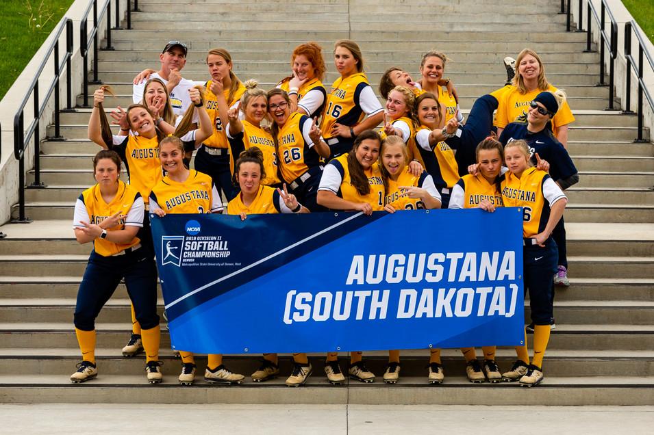 Augustana Softball Team | 2019 NCAA Division II Softball Championship