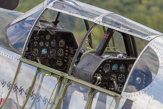 Collings Foundation TF-51D Cockpit