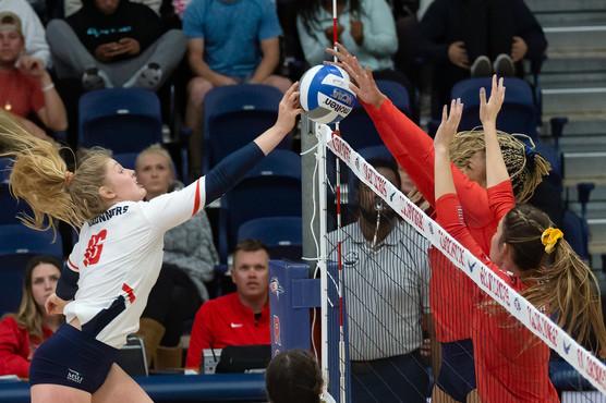 MSU Denver Volleyball vs Dixie State