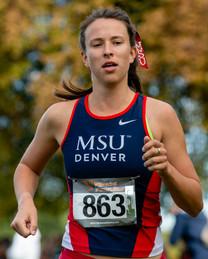 MSU Denver Women's Cross Country at the Roadrunner Invitational