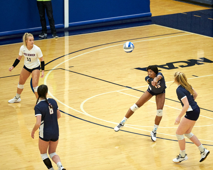 MSU Denver Volleyball versus Colorado School of Mines
