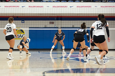 Darral Freund Photography | Professional Volleyball Photographer | MSU Denver Vs. Chadron State