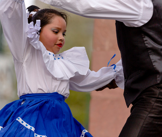 Mexican Dancer, Cinco de Mayo, Denver, Colo., 2019