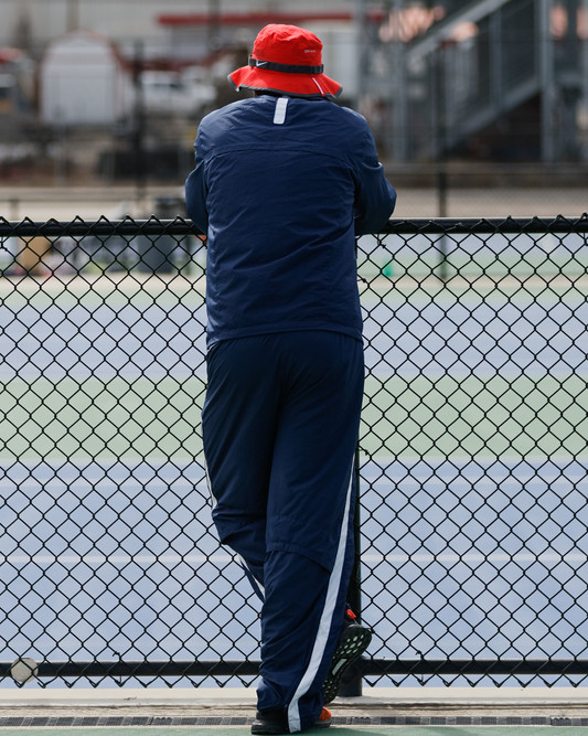 Coach John Gratez, MSU Denver Tennis