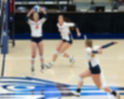 MSU Denver Volleyball vs Black Hills State in RMAC Quarterfinals