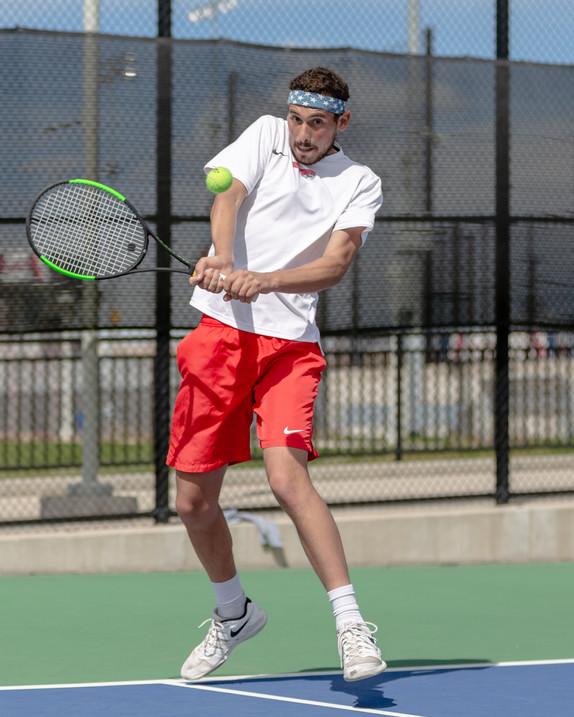 Joey Tscherne, MSU Denver Tennis