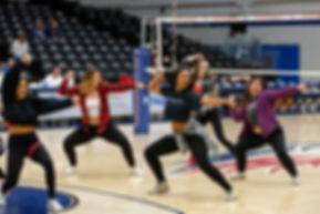 Darral Freund Photography | Professional Sports Photographer | Dance / Pom Pom | MSU Pom Poms at MSU Denver Vs. South Dakota School of Mine and Technology