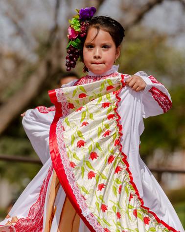 Mexican Dancer, Cinco de Mayo, Denver, Colo., 2019