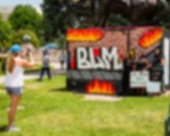 Photo of the Black Love Mural Festival, Civic Civic Center Park, Denver, Colorado, June 13, 2020.  Photo by Darral Freund