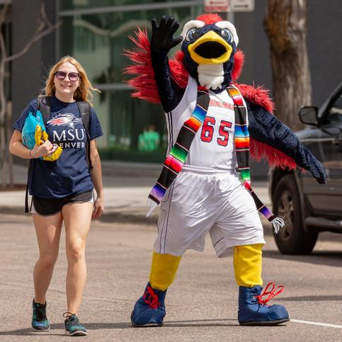 MSU Denver at Cinco de Mayo Parade, Denver, Colo., 2019