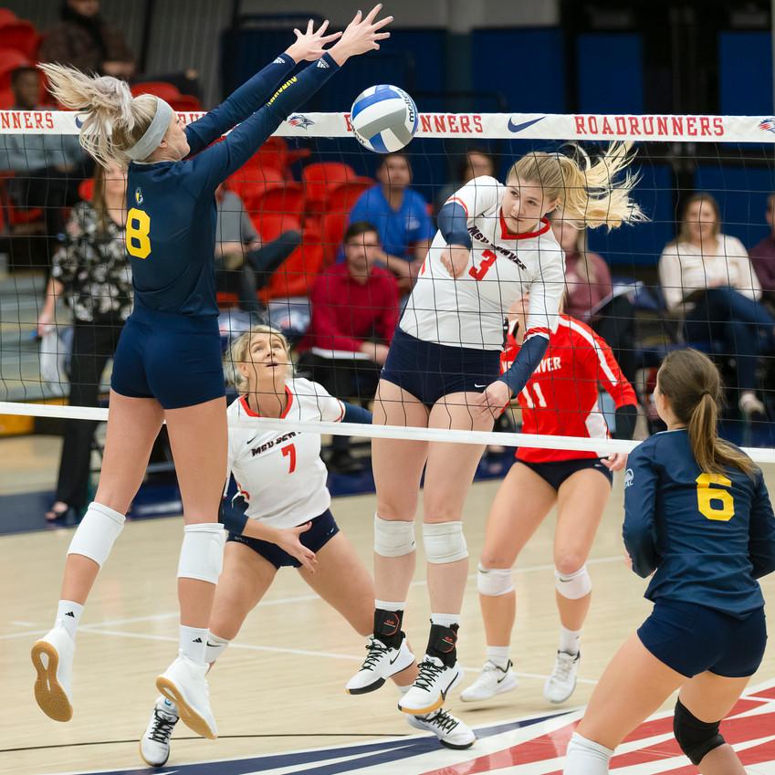 MSU Denver Volleyball versus Regis University