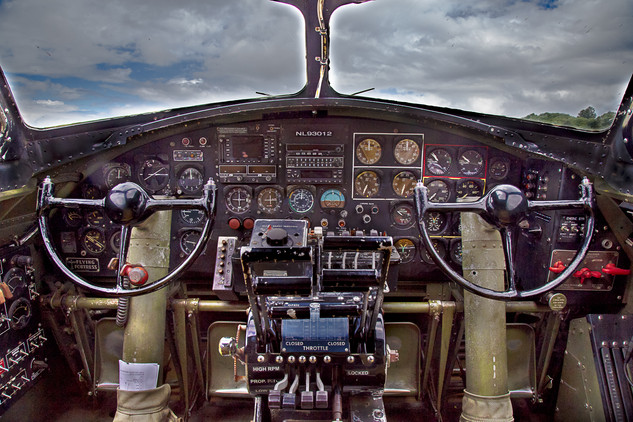 Collings Foundation B-17G Cockpit