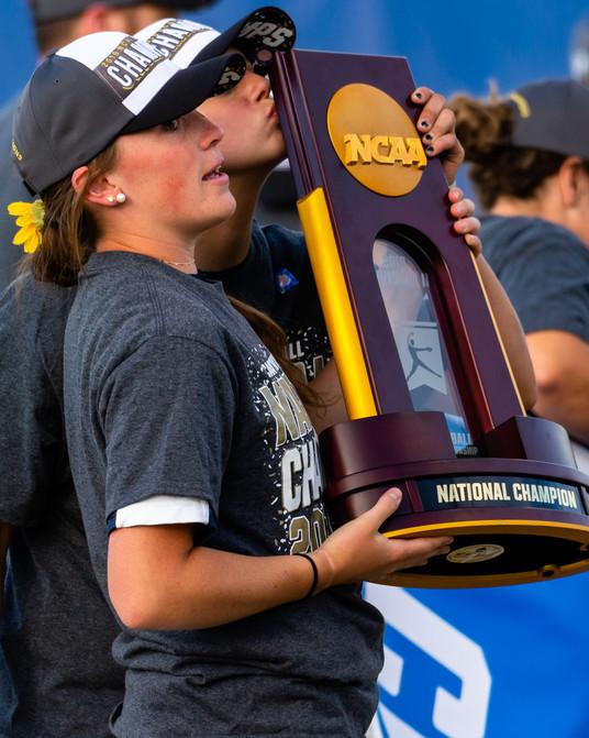Samantha Eisenreich, Ausustana Softball, 2019 NCAA D2 Championship