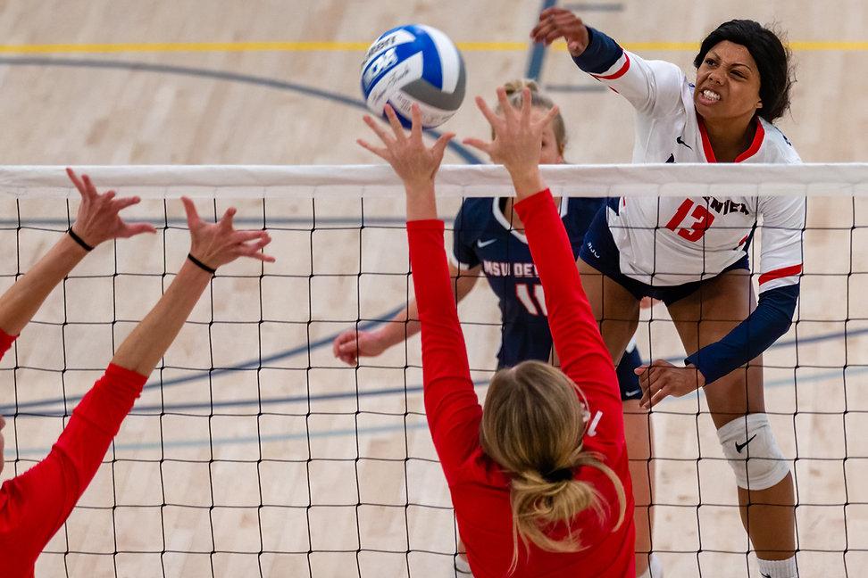 Photos of MSU Denver Women's Volleyball Versus MSU Denver Alumni, UC Denver Wellness Center, Denver, Colo. Saturday, Aug. 31, 2019