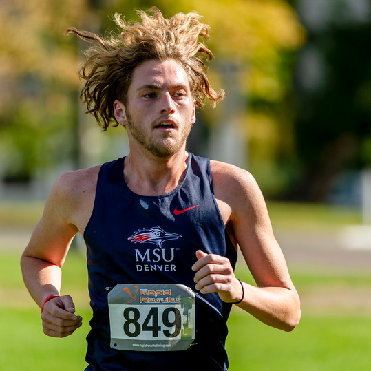 MSU Denver Men's Cross Country at the Roadrunner Invitational